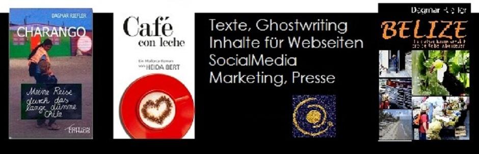 Webseiten, Bücher, Ghostwriting by riefler:text