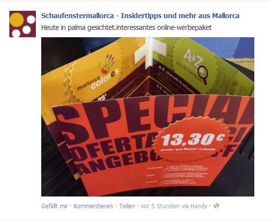 Konzept und Produktentwicklung für Mallorca Agentur